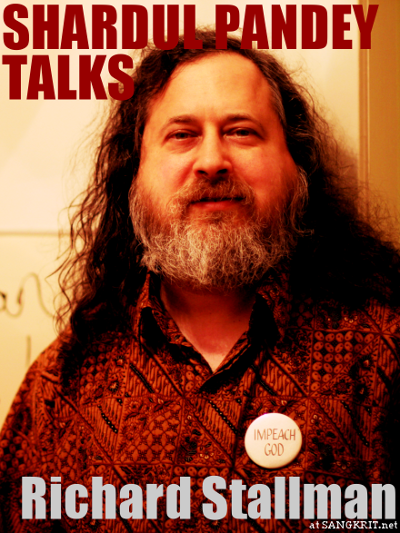 Shardul Pandey Talks Richard Stallman (RMS)