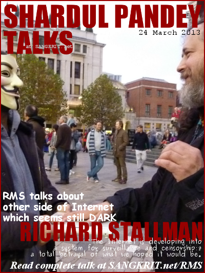 Shardul Pandey Talks To Richard Matthew Stallman