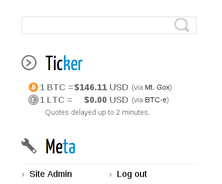 Cryptocurrency Easily Fetch And Display Current Cryptocurrency Prices Like Bitcoin In WordPress