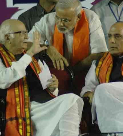 advani modi rajnath Shardul Pandey Talks To L. K. Advani & Richard Stallman