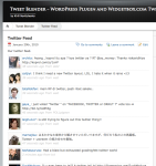 twitter widgets pack for WordPress