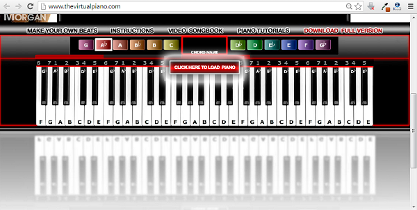 online keyboard virtual