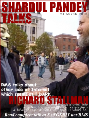 Shardul Pandey Talks To Richard Stallman
