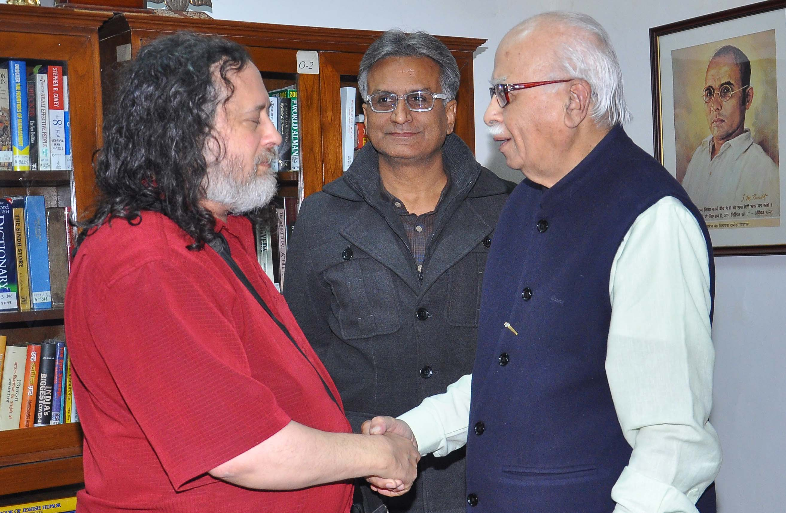 sangkrit.net founder free software movement visited founder internet growth engine india Shardul Pandey Talks To L. K. Advani & Richard Stallman