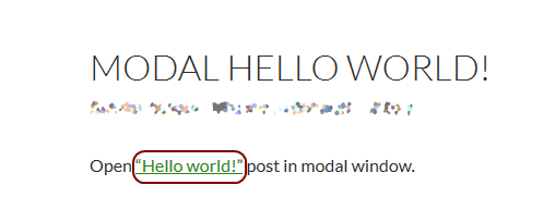 How To Mention Posts Using Modal Box Link In WordPress? 3