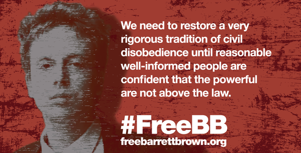 Sentencing Of Barret Brown Has Shown That The World Was Not Prepared To Save Aaron Swartz