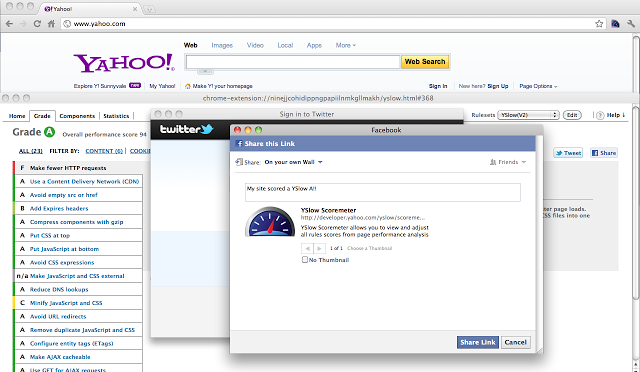 Yahoo's YSlow To Analyze The Slow Webpages Of Your Website